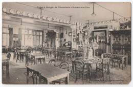 Auvers-sur-Oise - Salles à Manger De L'Hostellerie. Message, 1910. - Auvers Sur Oise