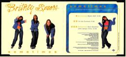 Musik CD Single  -  Britney Spears  -  Sometimes  -  Von 1999 - Disco, Pop