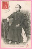 TONKIN. INDOCHINE.COCHINCHINE.HANOÏ.SAÏGON.LABOUREUR.MARCHANDS.FEMME.4 Cartes. - Vietnam