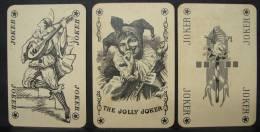 Joker. 2. Trois anciens jockers. The  Jolly jocker