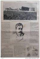Le Havre - Pierre Lucas, Auteur De L´attentat Contre Louise Michel Au Havre - Page Original - 1888 - Historical Documents