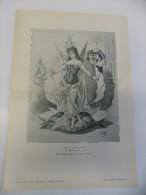 Affiche Caricature  Satire - Galerie Amusante - Une Huitre à Perle - Illustr. Gostiaux - Unclassified