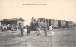 LOIRET  45   SAINT DENIS EN VAL  LA GARE  TRAIN - France