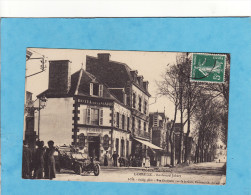 .. 529)9)   LAMBALLE  BELLE ANIMATION DEVANT L HOTEL DE LA GARE    ( TRES TRES BON ETAT ) - Lamballe