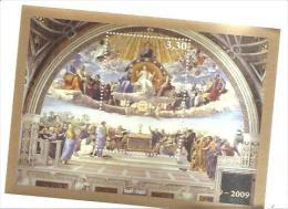 79620)foglietto Vaticano  Disputa Del Raffaello-2009 - Blocks & Sheetlets & Panes