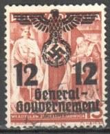 Poland - Generalgouvernement - 1940 Mi 33 Gestempelt /used - Generalregierung