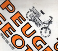 25 - BEAULIEU VALENTIGNEY - MONTBELIARD- BEAU CATALOGUE PIECES DETACHEES-CYCLES PEUGEOT MOTO- 104 F3- 1974 - Motos