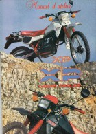 25 - BEAULIEU MANDEURE - MONTBELIARD- BEAU CATALOGUE MANUEL ATELIER MOTO PEUGEOT- XP- - Motor Bikes