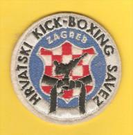 Old Canvas Tag - Kick-Boxing Croatia, Zagreb - Kleding, Souvenirs & Andere