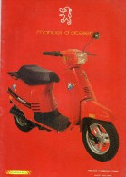 25 - BEAULIEU MANDEURE - MONTBELIARD- BEAU CATALOGUE MANUEL ATELIER MOTO PEUGEOT- SCOOTER- ST50L- - Motos