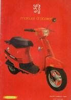 25 - BEAULIEU MANDEURE - MONTBELIARD- BEAU CATALOGUE MANUEL ATELIER MOTO PEUGEOT- SCOOTER- ST50L- - Motor Bikes