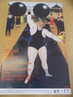 Affiche Kunst En Sport - Musée Des Beaux Arts - Mons - Bergen 1984 - Afiches