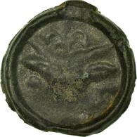Monnaie, Rèmes, Potin, TB+, Potin, Delestrée:221 - Gauloises