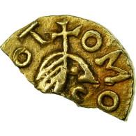 Monnaie, France, Triens, Rouen, Monétaire Domaigoaldo, SUP, Electrum - 470-751 Monete Merovingi