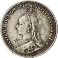 [#41087] Grande Bretagne, Victoria, 3 Pence 1891, KM 758 - 1816-1901 : Frappes XIX° S.