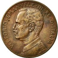 Monnaie, Italie, Vittorio Emanuele III, 5 Centesimi, 1913, Rome, TTB+, Bronze - 1900-1946 : Vittorio Emanuele III & Umberto II