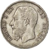 [#41245] Belgique, Léopold II, 5 Francs 1870, KM 24 - 09. 5 Francs