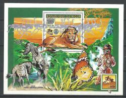 "Niger Bloc YT 60 "" Rotary Club : Lion "" 1996 Neuf** - Niger (1960-...)"