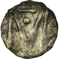 Monnaie, France, Denier Au M, Marseille, TB+, Argent - 470-751 Monete Merovingi