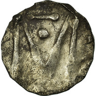 Monnaie, France, Denier Au M, Marseille, TB+, Argent - 470-751 Monnaies Mérovingiennes