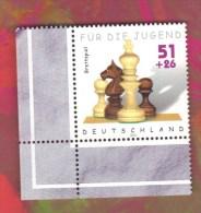 ALLEMAGNE GERMANY 2002 Neuf** Echecs Echec Chess Schach Ajedrez Scacchi - Scacchi