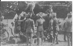 LA GUERRE 1914 : Batterie De Montagne Indienne Avec Bagages - CPA Postée En Nov 1914 - War 1914-18