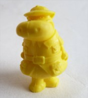 RARE FIGURINE PUBLICITAIRE Glaces OLA PORTUGAISE HANNA BARBERA 06 Monochrome Jaune - Pas Dunkin - Figurines