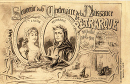 Illustrateur.Centenaire De La Naissance De Pétrarque.Bartego.Edt.Avignon. - Illustratoren & Fotografen