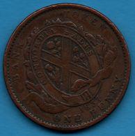 CANADA BANK TOKEN 1 PENNY 1837 BAS CANADA - Canada