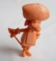 RARE FIGURINE PUBLICITAIRE Glaces OLA PORTUGAISE HANNA BARBERA 35 Monochrome Orange - Pas Dunkin - Figurines