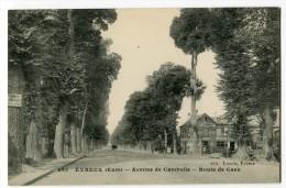 Ref 193 - EVREUX - Avenue De CAMBOLLE - Route De Caen - Evreux