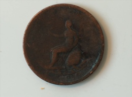 Grande-Bretagne Half Penny 1799 - 1662-1816 : Anciennes Frappes Fin XVII° - Début XIX° S.