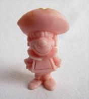 RARE FIGURINE PUBLICITAIRE Glaces OLA PORTUGAISE HANNA BARBERA 40 Monochrome Rose - Pas Dunkin - Figurines
