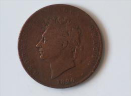 Grande-Bretagne Half Penny 1826 - 1816-1901 : Frappes XIX° S.