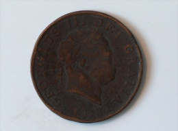 Grande-Bretagne Half Crown George III Bronze 1818 - 1816-1901 : Frappes XIX° S.