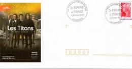 """NANTES (LOIRE ATLANTIQUE): MUSIQUE """"La Folle Journée 2011"""" De BRAHMS à STRAUSS  Obltération Temp Sur PAP CONCORDANT - Musique"""