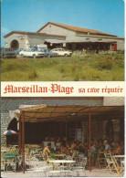 CP MARSEILLAN PLAGE 34,Sa Cave Réputée (La Cave Coopérative Sur La Route Nationale) - Marseillan