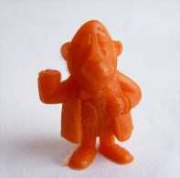 RARE FIGURINE PUBLICITAIRE DUNKIN ESPAGNOLE LUCKY LUKE 14 Monochrome Orange - Pas Wiko Boomer - Figurines