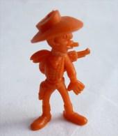 RARE FIGURINE PUBLICITAIRE DUNKIN ESPAGNOLE LUCKY LUKE 20 Monochrome Orange - Pas Wiko Boomer - Figurines