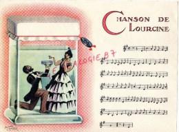 75 - PARIS- CHANSON DE LOURCINE -JULES DUPUYTREN - PUBLICITE MICTASOL 28 RUE DU FOUR- ILLUSTRATEUR ROGER CARTIER - Partitions Musicales Anciennes