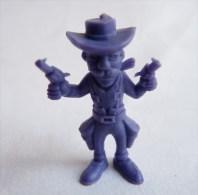 RARE FIGURINE PUBLICITAIRE DUNKIN ESPAGNOLE LUCKY LUKE 37 Monochrome Violet - Pas Wiko Boomer - Autres