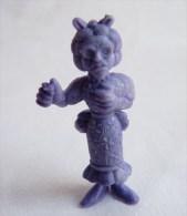 RARE FIGURINE PUBLICITAIRE DUNKIN ESPAGNOLE LUCKY LUKE 44 Monochrome Violet - Pas Wiko Boomer - Figurines