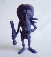 RARE FIGURINE PUBLICITAIRE DUNKIN ESPAGNOLE LUCKY LUKE 46 Monochrome Violet - Pas Wiko Boomer - Figurines