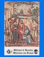 BE 1979-0001, Brussels Millenary (2nd Series) MNH MS - Blocks & Sheetlets 1962-....
