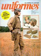 Revue Uniformes N° 65 En 1982 Tankiste En Normandie - Infanterie En 1871 - Histoire