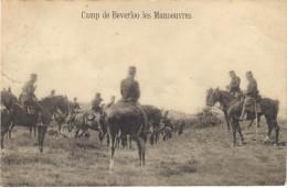 Bourg Leopold, Camp De Beverloo, Les Manoeuvres. - Casernes