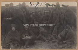 WW1  SCHNEIDEMUHLE Concentration Camp 1914  English Group 1w78 - Weltkrieg 1914-18