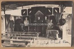 WW1  SCHNEIDEMUHLE Concentration Camp 1914  English Church Room 1w80 - Guerra 1914-18