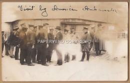 WW1  SCHNEIDEMUHLE Concentration Camp 1915 US Embassador Visit  Fault1w81 - Weltkrieg 1914-18