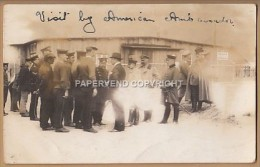 WW1  SCHNEIDEMUHLE Concentration Camp 1915 US Embassador Visit  Fault1w81 - Guerra 1914-18
